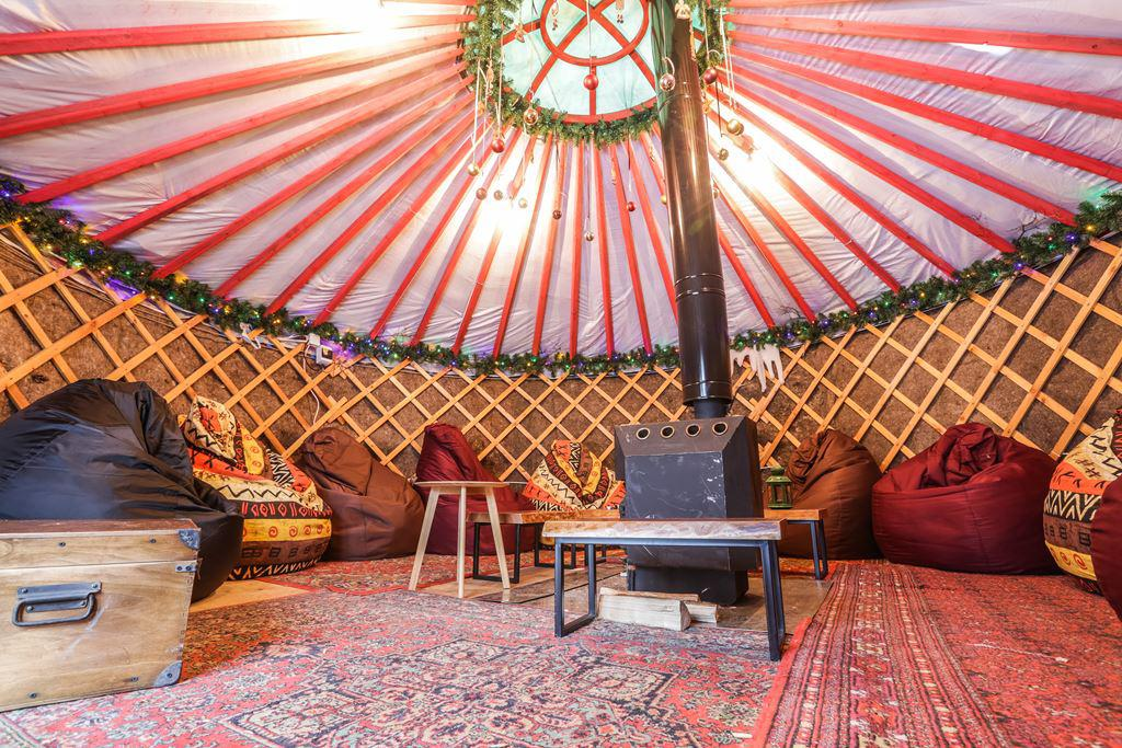 Traditional Yurt interior