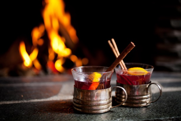 Drinks by fire